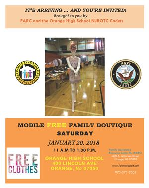 FARC and NJROTC Family Boutique