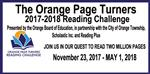 Orange Page Turners 2017-2018 Reading Challenge