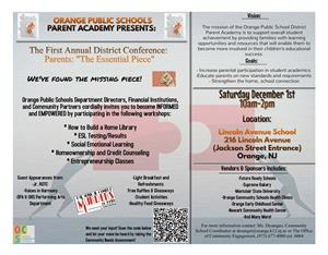 The First Annual District Conference