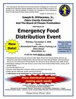 Emergency Food Distribution Event