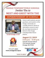 Meet and Greet With The Superintendent of Schools