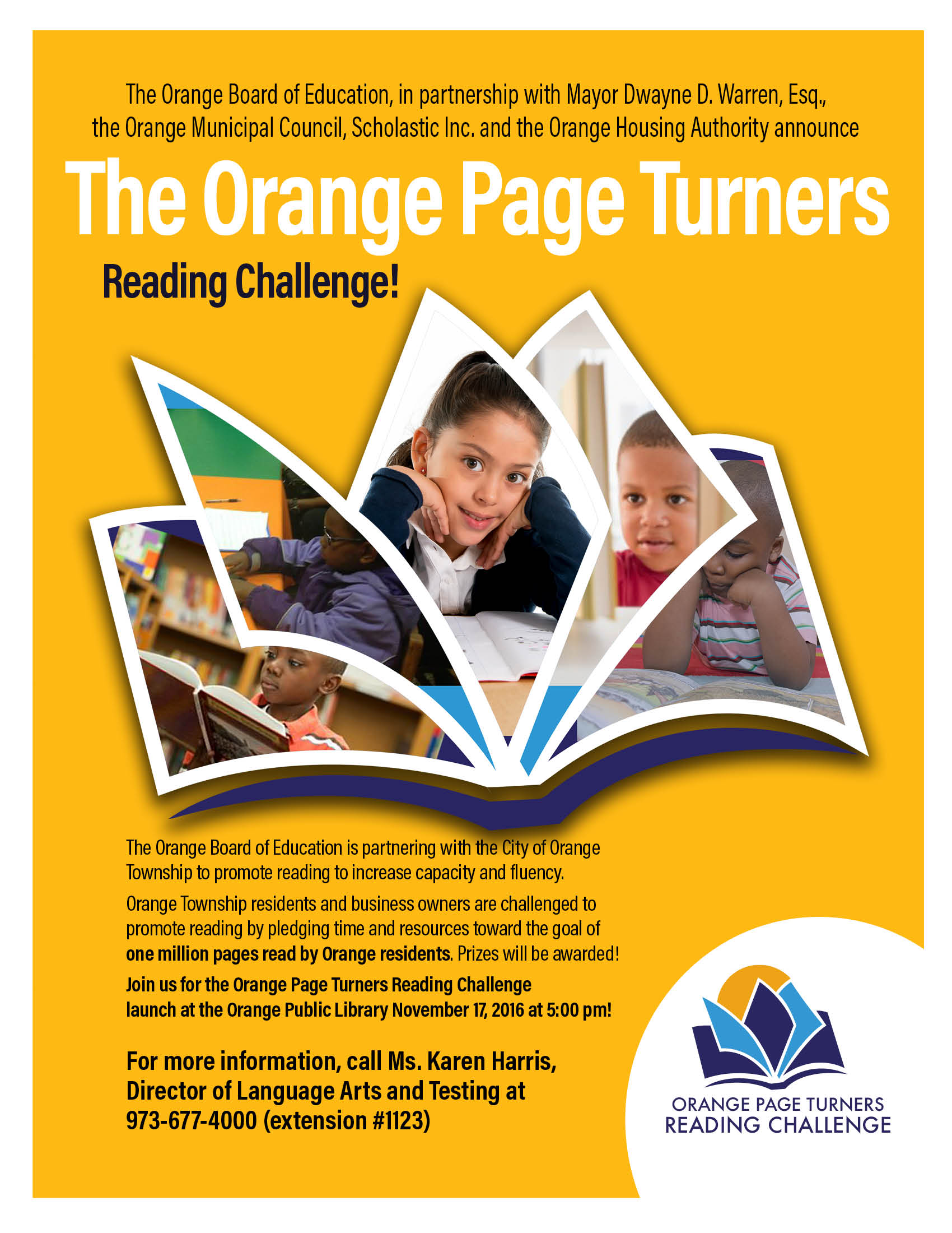 The Orange Page Turners