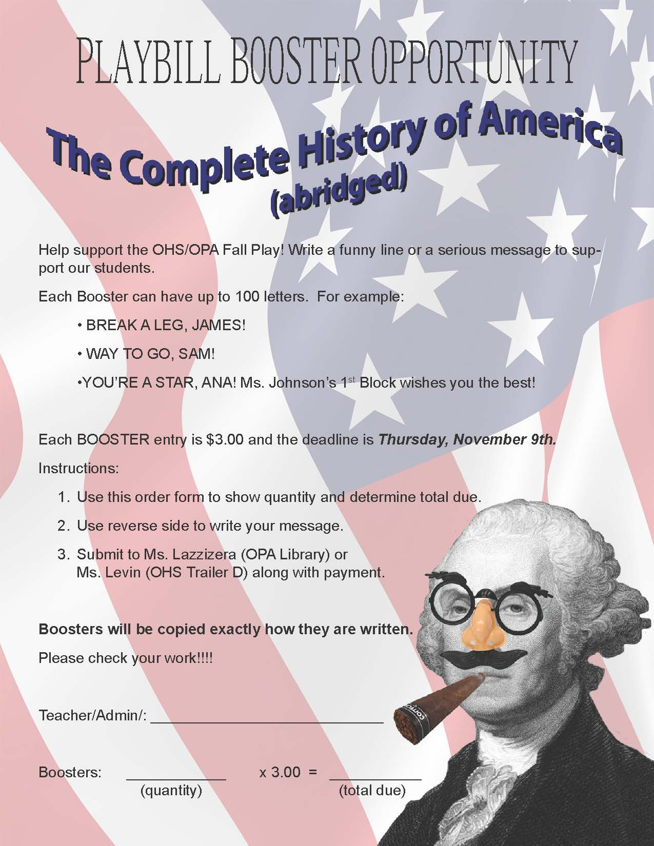 The Complete History of America Booster Ad