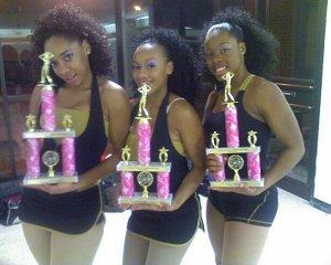 Breast Cancer Foundation Dance Competition Winners-Best Dance Routine-Best Dance Technique Routine-Best Captain Solo