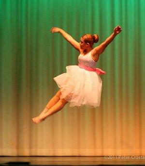 OHS Dancer Reaches Unique Height