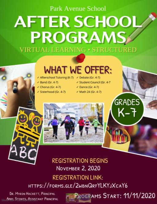Virtual After School Programs for K-7