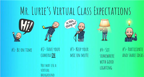 Virtual Class Expectations