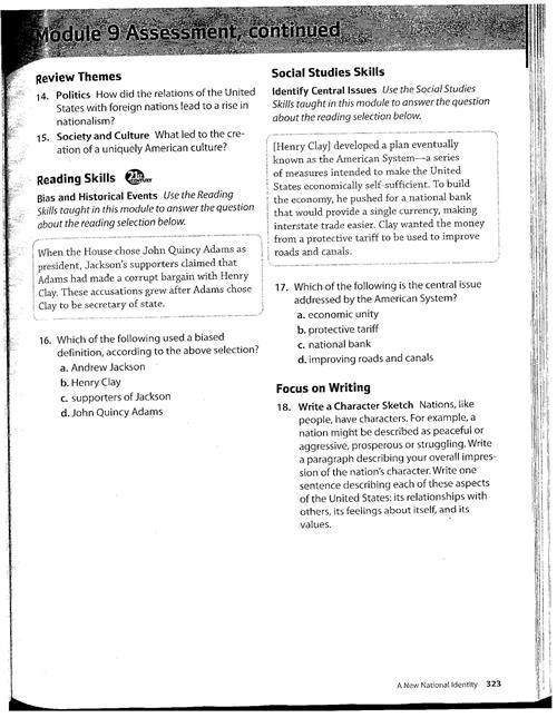 Halligan, Paul - Grades 5-7 SS / 7th Grade Chapter 9
