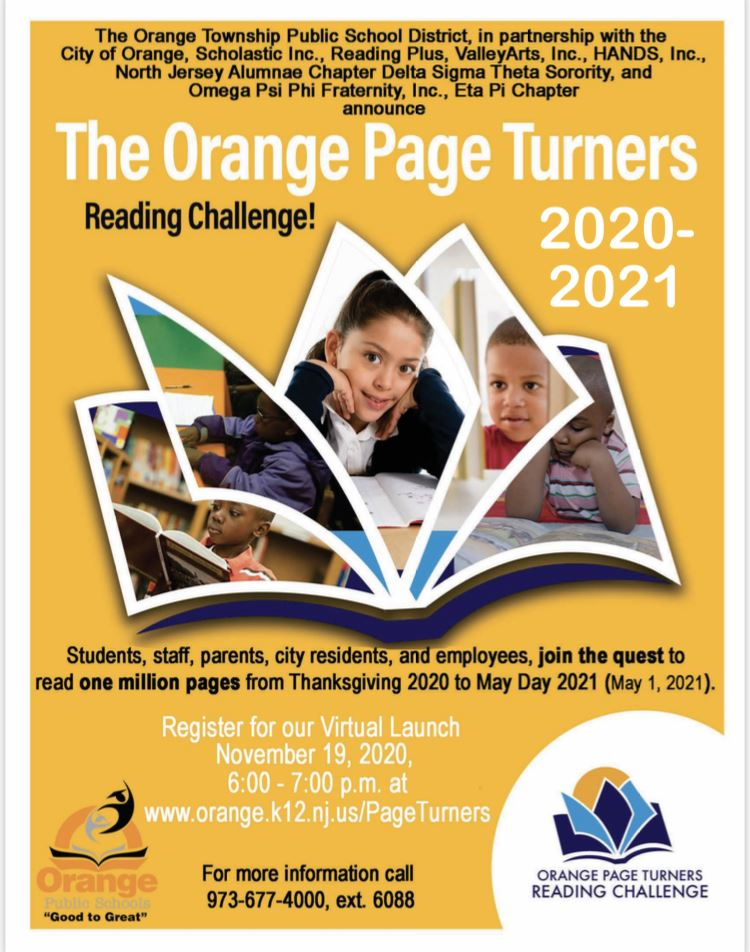 The Orange Page Turners 2020-2021