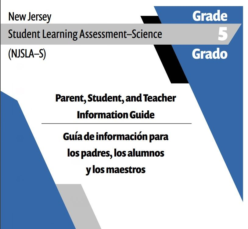 2020 NJSLA Science Grade 5 information Guide