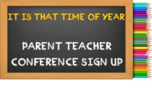 Parent/Teacher Conference Sign Up