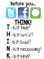 THINK before you post