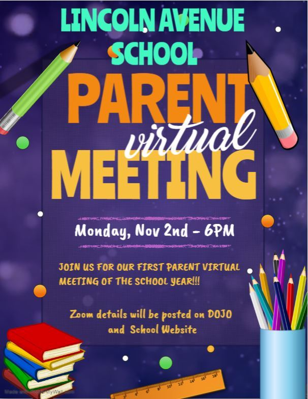 Parent Virtual Meeting