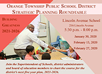 An Invitation to Attend the Strategic Planning Roundtable Sessions Beginning on January 30, 2020