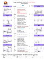 2014-2015 District Calendar