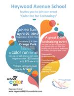 Color Run for Technology
