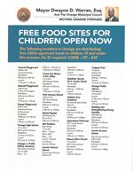 Free Food Sites for Children