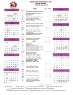 Revised District Calendar