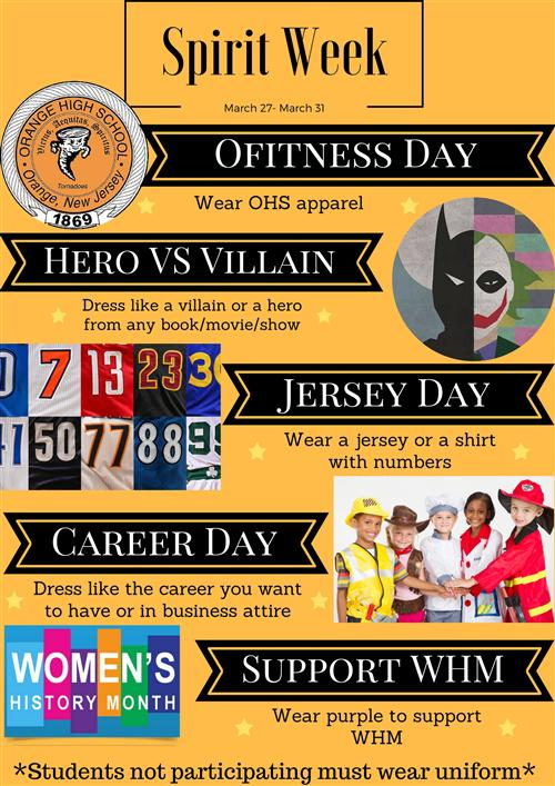 OHS Spirit Week